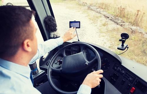 une caméra de recul pour camion